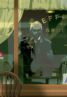 reflection by Tomer Hanuka