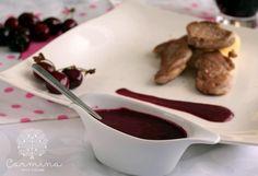 Cómo hacer salsa de cerezas para carne