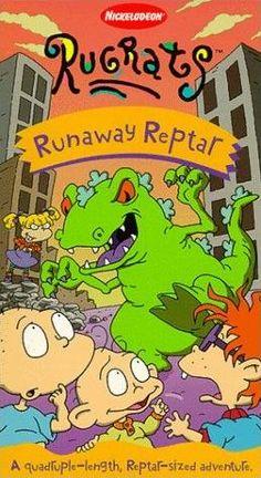 Runaway Reptar VHS.