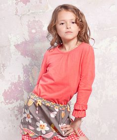 Take a look at this Indian Summer Emma Top - Infant, Toddler & Girls by Jelly the Pug on #zulily today!