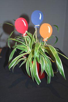 Luftballon Blumenstecker