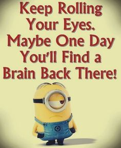No matter how many times you watch the funny faces of these minions each time they look more funnier…. So we have collected best Most funniest Minions images collection . Read Minions images with Quotes-Humor Memes and Jokes Minions Images, Funny Minion Pictures, Funny Minion Memes, Minions Quotes, Funny Texts, Minions Minions, Minion Humor, Funny Humor, Minion Talk