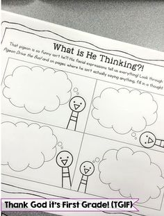 TGIF! - Thank God It's First Grade!: We Love Pigeon! Mo Willems Author Study