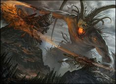 Surtr, Fire of Ragnarok by Sam Burley [btip]