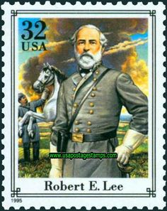 Commemorative Stamp   Commemorative Stamps: 32c General Robert E. Lee. American Civil War ...