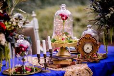 The Seating Chart in This Modern Beauty and the Beast Wedding Shoot Is Made of Books!