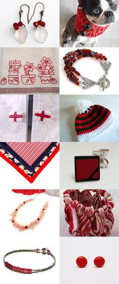 Really, Really Red by Dix Cutler on Etsy--Pinned with TreasuryPin.com