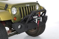 Smittybilt - SRC Carbine Front Bumper - Fits 2007 to 2016 JK Wrangler, Rubicon and Unlimited - 4WD.com