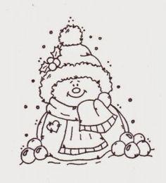 Imprimir dibujos para colorear de navidad tierno