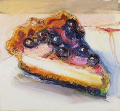 Richard Hickam, Blueberry Royal - Food in Art via Miss Moss Art Journal Pages, Art Pages, Art Journal Inspiration, Art Inspo, Miss Moss, Still Life Fruit, Art Archive, Snack, Artist Art