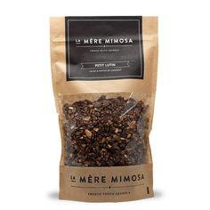 Granola PETIT LUTIN: cacao & pépites de chocolat  http://www.mongardemanger.com/maman-bobosans-gluten-bananes-coco.html