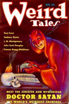 Margaret Brundage- Weird Tales Magazine