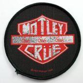 Motley Crue - 'Girls Girls Girls' Woven Patch