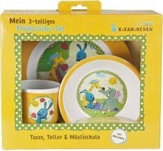 p:os 69742 Frühstücksset Kikaninchen, Teller, Schale und Becher, 3-teilig von p:os, http://www.amazon.de/dp/B00BXFCEF0/ref=cm_sw_r_pi_dp_MwSitb0WVY5MB
