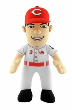 """Cincinnati Reds Joey Votto 14"""" Plush Figure - $24.99"""