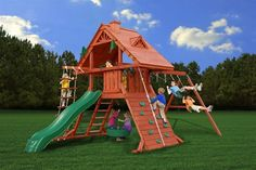 Gorilla Cedar Playset Sun Palace Swing Set, Price: $2,249.00  (Current Special Price of $1,999.00!)