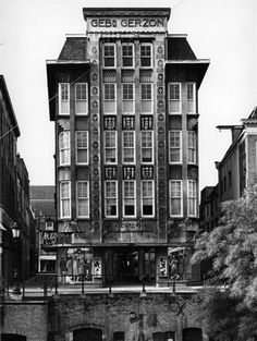 Gerzon, Oudegracht Utrecht, 1963