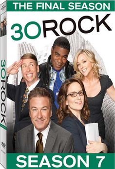 30 Rock - Finalized Street Date, Early Box Art and More for 'Season 7: The Final Season'
