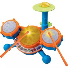 VTech KidiBeats Drum Set, Toy Drums and Percussion — Baby Pins