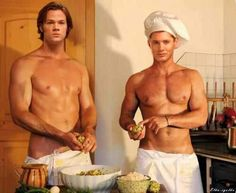 Okay.. I'm just gonna leave this here... They've gotta be Supernatural. I don't even care how this happened though. I just don't care. I shall merely enjoy its beauty