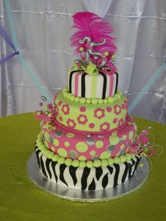 Colorful Quince Cake!