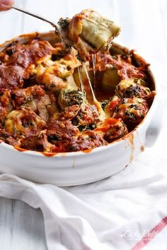 Spinach And Ricotta Zucchini Cannelloni - Cafe Delites Breakfast Slider, Best Breakfast, Breakfast Ideas, Brunch Ideas, Dinner Ideas, Vegan Breakfast, Pasta Recipes, Cooking Recipes, Healthy Recipes