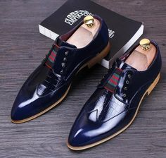 180e2f7ef47c8 Men s Wedding Flat Shoes Patent Leather Luxury Business Oxfords Casual Shoe  Leather Office Shoes