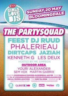 GIRLS LOVE DJS #bloomingdale #beachclub