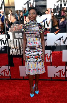 best dressed at the mtv music awards 2014 // lupita nyong'o killing it in chanel!