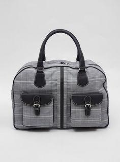 Calabrese for Present Weekend Bag Glen Plaid - Present London