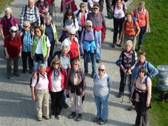 Wanderung am 29. März: Nur strahlende Gesichter kurz vor dem Endziel