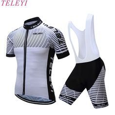 TELEYI 2017 New arrival Cycling Jersey MTB Bike Jersey shorts suit Cycle Summer Ropa Ciclismo Short Sleeve Coolmax Cycling Suit Cycling Suit, Cycling Wear, Bike Wear, Cycling Bikes, Pro Cycling, Mtb Bicycle, Bicycle Clothing, Cycling Clothing, Team Cycling Jerseys