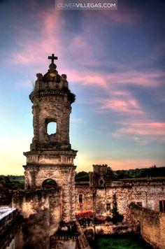 Ruinas Santa Bárbara ,La Malinche, Tlaxcala. Méjico