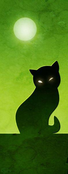 black magic cat by RogerStork.deviantart.com
