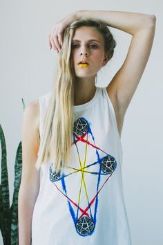 The Wild Unknown Four of Pentacles Muscle Tee