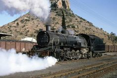 photo by Robert Sweet of SAR No. 2626 stored at the Transnet Heritage Foundation in Bloemfontain, Free State, South Africa Locomotive Engine, Steam Locomotive, South African Railways, Heritage Foundation, Rolling Thunder, Free State, Busses, Steam Engine, Train Tracks