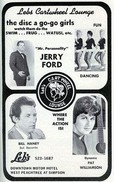 Carthwheel Lounge 10/11/65