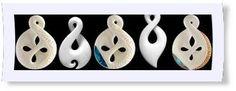 Pikora (Single Twist) - represents the symbol of eternity. Singles Twist, Maori Designs, Bone Carving, Symbols, Pendant, Icons, Pendants