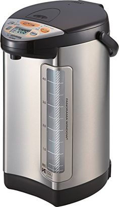 Zojirushi America Corporation CVDCC50XT VE Hybrid Water Boiler and Warmer 5Liter Stainless Dark Brown >>> You can get more details at