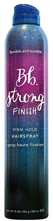 Style your hair and get a hairspray that will hold what you did to your hair. Bumble and bumble Bb. Strong Finish Firm Hold Hairspray. #hair #hairstyle #affiliate