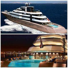 Oceanco l 120m l Super Yacht l Dutch Innovations l Dutch l The Netherlands