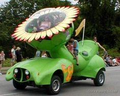 Flower car - I want the top seat