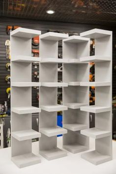 How to Make Shoe Storage Display Shelves Love your shoe and/or handbag collection? Show it off with these easy-to-build display shelves perfect for a walk-in closet or bedroom wall.