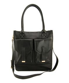 Take a look at this Black Madison Crossbody Bag by Erica Anenberg on #zulily today!