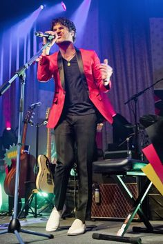 Darren Criss opens his 'Listen Up' Tour at The Fillmore, San Francisco, on May 29, 2013.