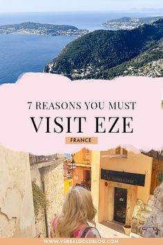 Visiting Cote D'azur soon and wondering where to stay? If you're on the lookout for a romantic vacation, here are seven reasons you must choose Eze as your next European beach vacation! Europe Travel Tips, European Travel, Travel Guides, Travel Destinations, Beach Vacation Meals, Greece Vacation, Vacation Spots, Eze France, South Of France