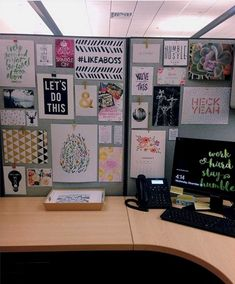 5 Cheap Ways to Dress Up Your Desk   Office   Pinterest   Desks Cubicle and Office spaces & 5 Cheap Ways to Dress Up Your Desk   Office   Pinterest   Desks ...