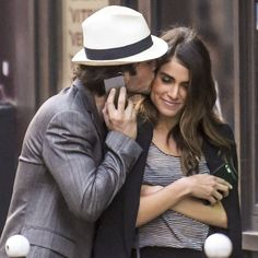 Pin for Later: Ian Somerhalder and Nikki Reed Show Their Newlywed Bliss in Paris
