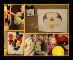 DIY Mickey Mouse Party Games, Free Printables, www.craftycompliments.com