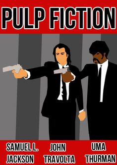 Pulp Fiction - Movie Poster by joaood